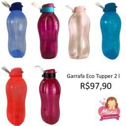 Título do anúncio: Garrafa Tupperware Eco Tupper | 2 litros | Fazemos entrega