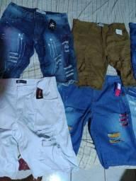 Vendo bermudas jeans nova