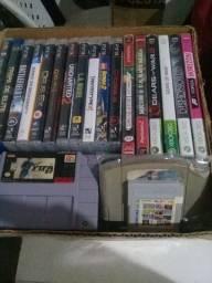 Jogos de SNES, PS2, PS3, GB
