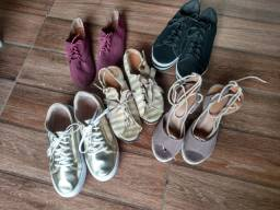 Vendo sapatos semi novos todos número 37 preço no whats : *