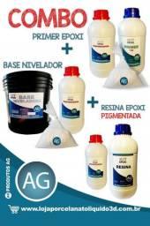 Resina Epóxi (transparente) Resina + Endurecedor 1kg
