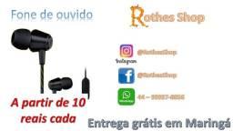 Título do anúncio: Fones de ouvido com fio a partir de 10,00 reais
