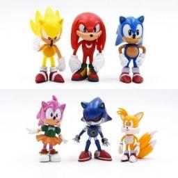 Sonic (6 personagens)