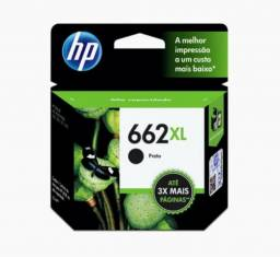 Cartucho de tinta preto e colorido HP 662XL