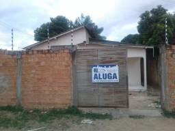 Aluga-se casa na Rua Telegrafista Rocha nº151 Bairro Cidade Satélite 600,00