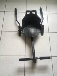 Hoverboard com Kart