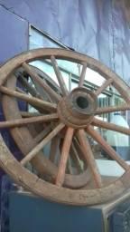 Rodas de carroça, 0.74 cm. 2 unidades