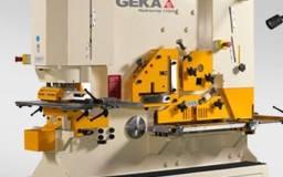 Metaleira prensa GEKA furo corte estampo