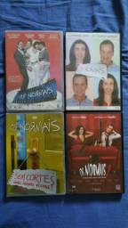 Coleção Os Normais em Dvds