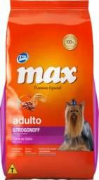 Ração MAX Strogonoff Adulto 15kg (pagto no dinheiro)
