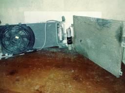 Condensador e radiador do ar do corsa