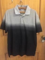 Camiseta polo manga curta Lacoste