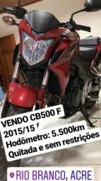 CB500F 2015 - Abaixo da FIPE - 2015