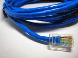 Cabo de rede internet Lan