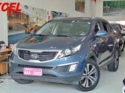 Kia Sportage Lx 2.0 Flex At 2012 azul - 2012