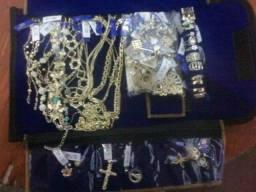 Vendo joias banhadas a ouro 18k com Garantia de um ano