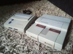 Dois super Nintendo