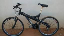 Troco bicicleta super leve Caloi T-Type aro 26