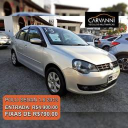 Volkswagen Polo Sedan 1.6 2013 - Completo - 2013