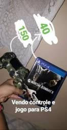 Controle e jogo