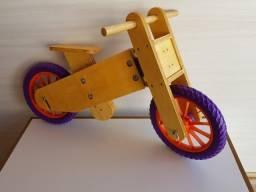 Bicicleta de Equilíbrio madeira