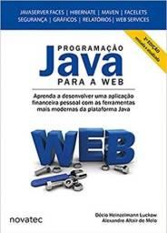 Livro Programação Java Para A Web