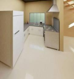 Sobrado em construção com 3 dormitórios sendo 2 suítes e área gourmet