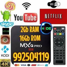 Promoção (entrega grátis) TV Box MXQ-Pró 4K com 2Gb RAM/16Gb ROM