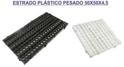 Estrados piso modular plastico pesado 50x50x4,5