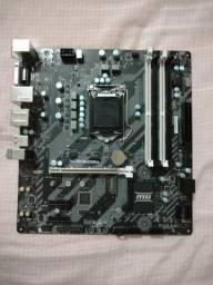 Placa Mãe Msi H270m/ B250m Bazooka Intel