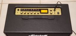 Amplificador Marshall Code 50 com controlador footswitch 220v