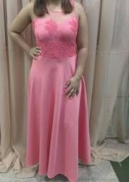 Vestido rosé