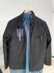 Blusão de couro legítimo novinho em folha