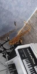 Sax tenor muito bem cuidado