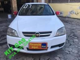 Chevrolet Astra 2.0 Sedan top de linha + kit gás + 2020 Gratis - 2007