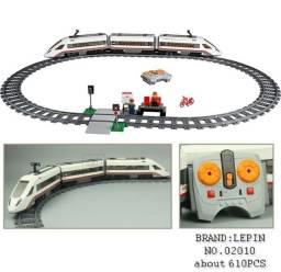 Lego Trem Locomotiva 610Pcs Elétrico