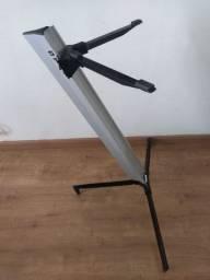 Suporte Stay prata modelo torre alumínium
