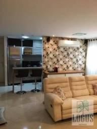 Apartamento Duplex com 3 dormitórios à venda, 110 m² por R$ 690.000,00 - Sítio da Figueira