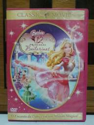 DVD Original Barbie em as 12 (doze) Princesas Bailarinas