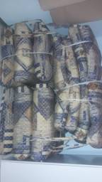 Almofada para banco de bambu