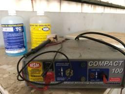 MSM Gravador eletroquímico Compact 100 Profissional