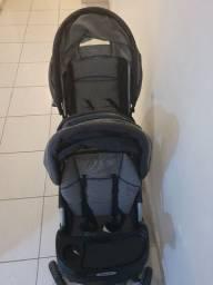 Carrinho de bebê para gêmeos Galzerano