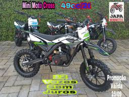 Mini Moto Cross MXF Partida Manual 49cc/2t