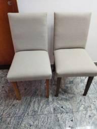 Título do anúncio: Cadeira beje novas