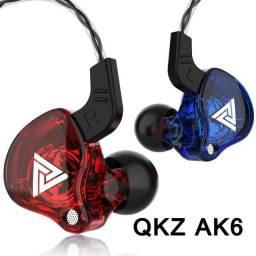 Título do anúncio: Fone de ouvido Hi-Fi Qkz Ak6