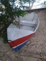 Título do anúncio: Barco de madeira fibrado