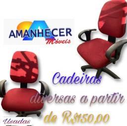 Título do anúncio: Cadeiras usadas em PROMOÇÃO