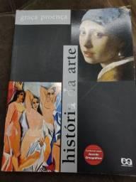 Livro usado - História da Arte - Graça Proença