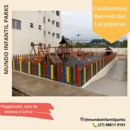 Título do anúncio: Parquinho de madeira playground