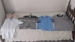 Camisas Polo 05 unidades Novas